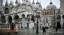 The damage to St Mark's Basilica is set to run into hundreds of millions of euros according to Venice's mayor