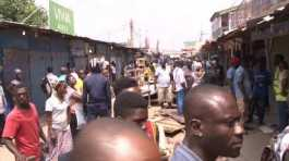 Ghanaian and Nigerian retail traders clash