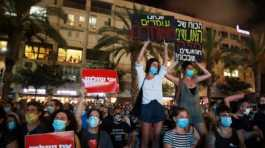 Israel protest against poor economy