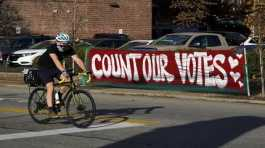Count Our Votes sign in USA